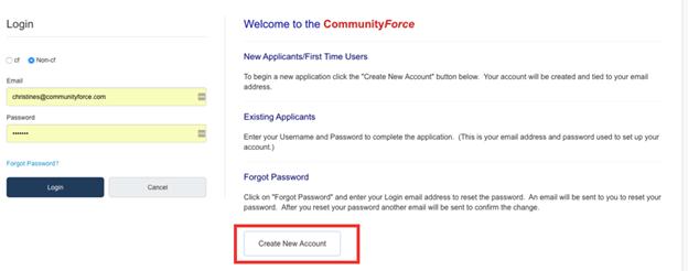 1  Creating/Editing a User Account – CommunityForce